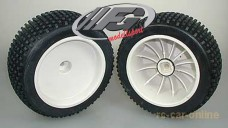y1151 Multipin offroad tire / rim / insert, mounted + glued,