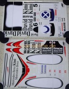 10268 FG Team-Dekorbogen Mobil-Sonax Formel 1