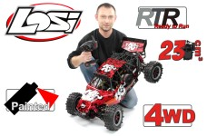 y1472/03 Losi DBXL K&N MadMax-Race RTR 1:5er 4WD