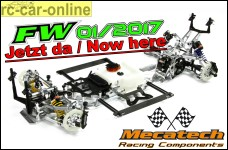 Mecatech FW01/2017 Basic Kit, Tourenwagen Radstand 535 mm, D