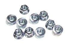6115 FG Wheel nuts M8 with clamping