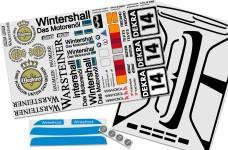 8063 FG BMW M3 E30 Dekorbogen Set