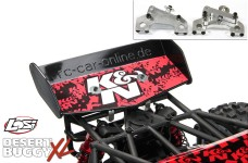 y1340/01 Adjustable wing mount with wing for Losi Desert Bug