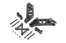 TLR250003 TLR Wing Mount, Brace and Spacer 5ive-B
