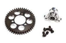6491 FG Steel spur gear 44T with adapter - set