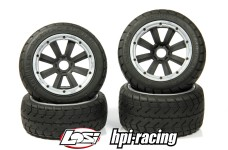 y1405/01 MadMax TARMAC BUSTER 170x80/x60 for HPI + Losi (24