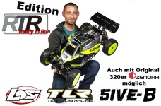Losi TLR 5ive-B 1:5 4WD Buggy Race Kit RTR-Edition inkl. Mot